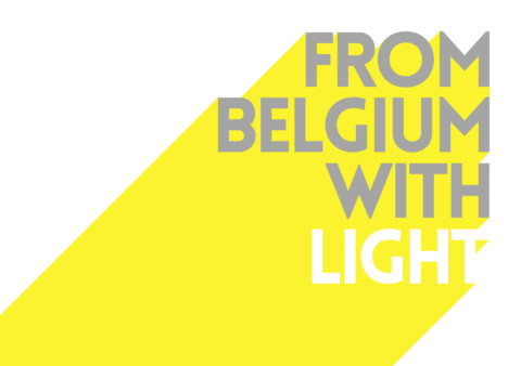 CRANE, STRETCH and TUBE are selected for the exposition FROM BELGIUM WITH LIGHT